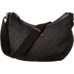 Gucci Black GG Canvas & Leather Messenger Bag found on MODAPINS from Gilt for USD $650.00