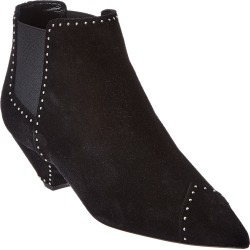 Saint Laurent Studded Suede Bootie found on Bargain Bro Philippines from Gilt for $759.99