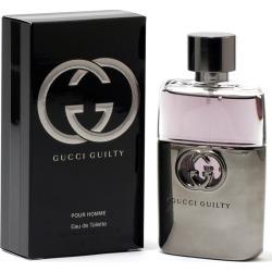 Gucci Men's 1.7oz Guilty Pour Homme Eau de Toilette Spray found on Bargain Bro India from Gilt City for $49.99