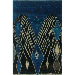 Noori Rug Moroccan Hand-Knotted Rug found on Bargain Bro India from Gilt for $739.99
