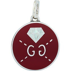 Gucci Ghost Silver and Enamel Diamond Motif Charm found on Bargain Bro Philippines from Ruelala for $159.99
