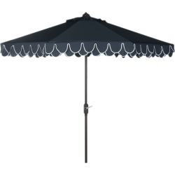 Safavieh Up Resistant Elegant Valance 9Ft Auto Tilt Umbrella found on Bargain Bro India from Gilt City for $139.99