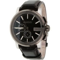 Gucci Men's Leather Watch found on Bargain Bro Philippines from Ruelala for $799.00