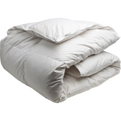 Canadian Down White Feather & Down Comforter (Regular Weight)