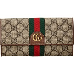 Gucci Three Little Pigs GG Supreme Canvas Continental Wallet found on Bargain Bro Philippines from Gilt for $839.99
