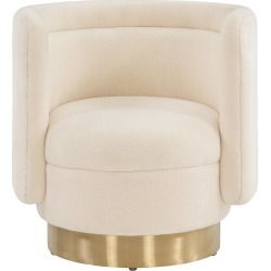 Safavieh Couture Brynlee Swivel Accent Chair found on Bargain Bro India from Gilt for $629.99