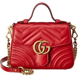 Gucci GG Marmont Mini Top Handle Matelasse Leather Shoulder Bag found on Bargain Bro Philippines from Ruelala for $1689.99