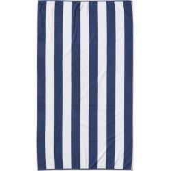 Dohler Marine Strips Loop Terry Pool Towel
