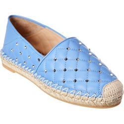 Valentino Rockstud Spike Leather Espadrille found on Bargain Bro India from Gilt City for $449.99