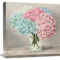 Global Gallery Fleurs et Vases Blanc II by Remy Dellal found on Bargain Bro India from Gilt for $99.99