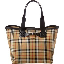 Burberry Large Austen Vintage Check Tote found on Bargain Bro India from Ruelala for $1149.99