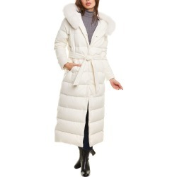 Herno Long Silk & Cashmere-Blend Down Jacket found on MODAPINS from Gilt for USD $2249.99