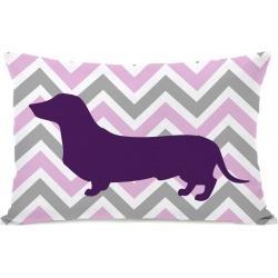 One Bella Casa Dachshund Pillow