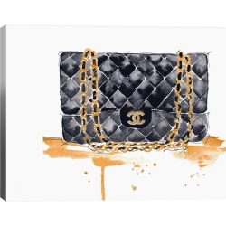 iCanvas Chanel Purse by Kelsey McNatt Wall Art found on Bargain Bro India from Ruelala for $49.99