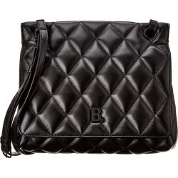 Balenciaga Model B Medium Leather Shoulder Bag