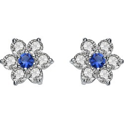 Genevive Silver Earrings found on Bargain Bro India from Gilt for $29.99