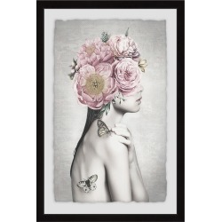 Marmont Hill Pink Flower Turban found on Bargain Bro Philippines from Gilt City for $379.99