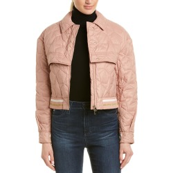 Stella McCartney Quilted Crop Jacket found on MODAPINS from Gilt for USD $459.99