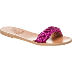 Ancient Greek Sandals Garitsa Leather Slide found on MODAPINS from Gilt for USD $139.99