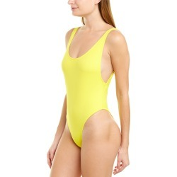 Milly Cabana Deep Side Scoop One-Piece