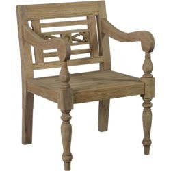 East at Main Promenade Carved Wood Chair found on Bargain Bro India from Gilt for $249.99