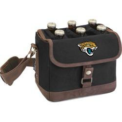 Legacy Beer Caddy' Cooler Tote with Opener with Jacksonville Jaguars Digital Print