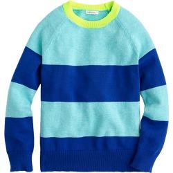 Crewcuts by J.Crew Rugby Stripe Crew Sweater