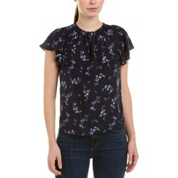 Rebecca Taylor Francine Silk Top found on Bargain Bro India from Gilt City for $89.99