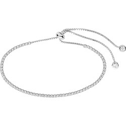 Sterling Forever Silver CZ Adjustable Bracelet found on Bargain Bro India from Gilt City for $39.99