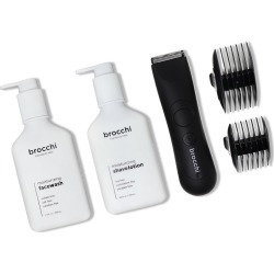 BROCCHI Waterproof USB Trimmer, Moisturizing Face Wash & Shave Lotion Bundle found on Bargain Bro India from Gilt for $54.99