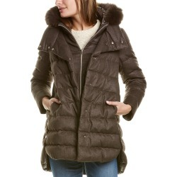 Herno Quilted Cashmere & Silk-Blend Coat found on MODAPINS from Gilt City for USD $2199.99