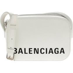 Balenciaga Logo Ville Leather Camera Bag