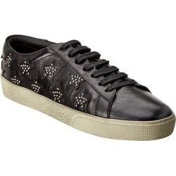 Saint Laurent Andy Leather Sneaker found on Bargain Bro India from Ruelala for $399.00
