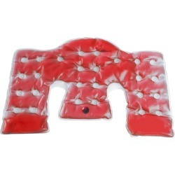 PCHLIFE Red Reusable Neck & Shoulder Hot and Cold Pad
