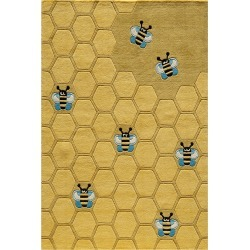 Momeni Lil Mo Whimsy Hand-Tufted Rug found on Bargain Bro Philippines from Ruelala for $299.99
