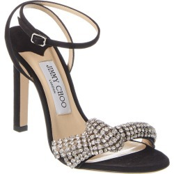 Jimmy Choo Thyra 100 Suede Sandal found on MODAPINS from Gilt City for USD $799.99