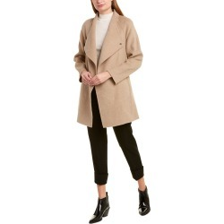 Vince Draped Sweaterback Wool-Blend Coat found on Bargain Bro India from Gilt for $339.99