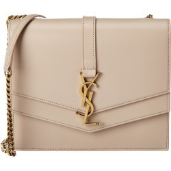 Saint Laurent Medium Sulpice Leather Shoulder Bag found on Bargain Bro India from Ruelala for $1999.99