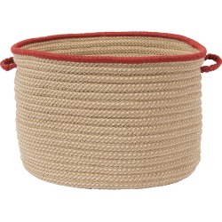 Boat House Rust Red Utility Basket