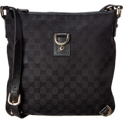 Gucci Black GG Canvas & Leather Abbey Messenger Bag found on Bargain Bro Philippines from Gilt City for $650.00