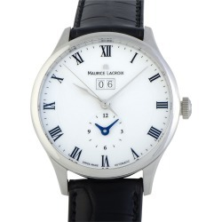 Maurice Lacroix Men's Leather Watch found on MODAPINS from Gilt City for USD $1499.99
