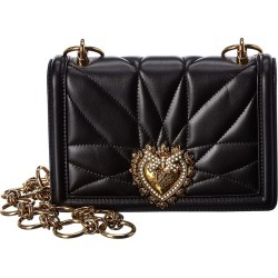 Dolce & Gabbana Devotion Mini Matelasse Leather Shoulder Bag found on Bargain Bro India from Ruelala for $1759.99