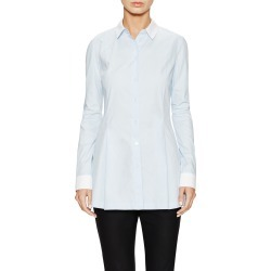 Ji Oh Contrast Classic Collared Shirt found on MODAPINS from Ruelala for USD $69.99