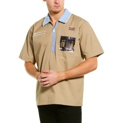 Burberry Montage Print Polo Shirt found on Bargain Bro Philippines from Ruelala for $579.99