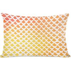One Bella Casa Nautical Scales Outdoor Pillow