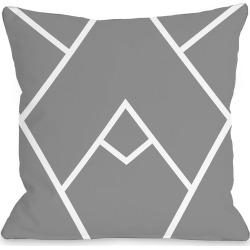 One Bella Casa Mountain Peaks Outdoor Pillow
