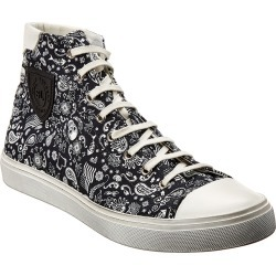 Saint Laurent Bedford Canvas High-Top Sneaker found on Bargain Bro Philippines from Ruelala for $559.99