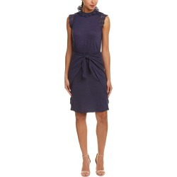 Rebecca Taylor Crochet Linen Shift Dress found on Bargain Bro India from Ruelala for $125.99