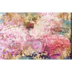 Oliver Gal Rose Rhapsody Canvas Art found on Bargain Bro India from Gilt City for $269.99