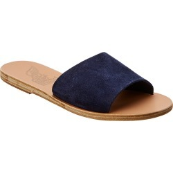 Ancient Greek Sandals Taygete Suede Slide found on MODAPINS from Ruelala for USD $99.99